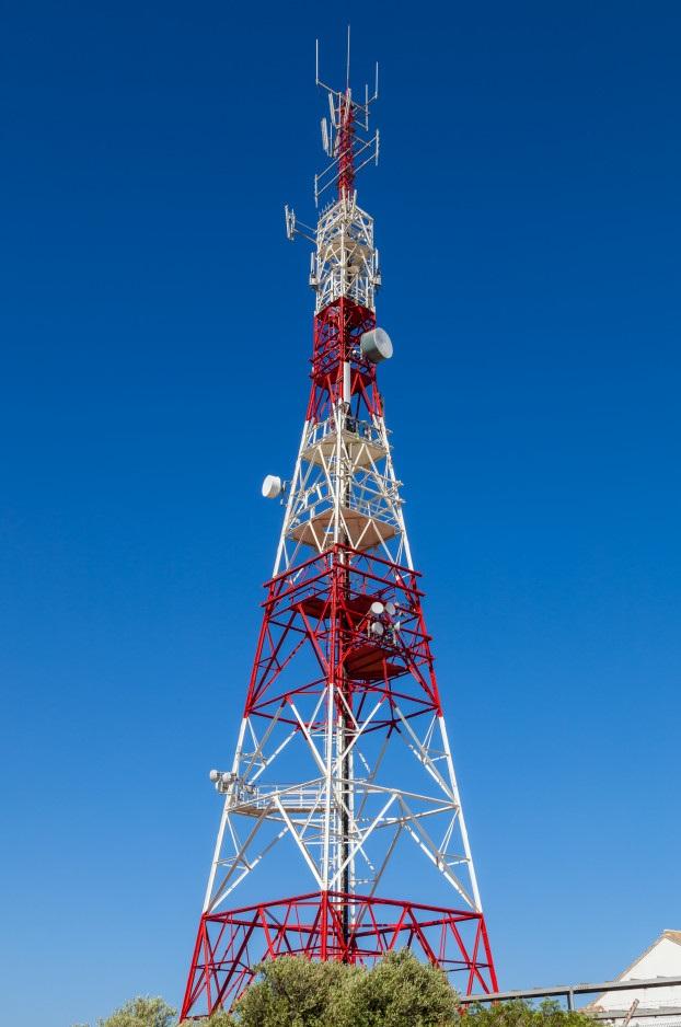 Estación base de red de datos