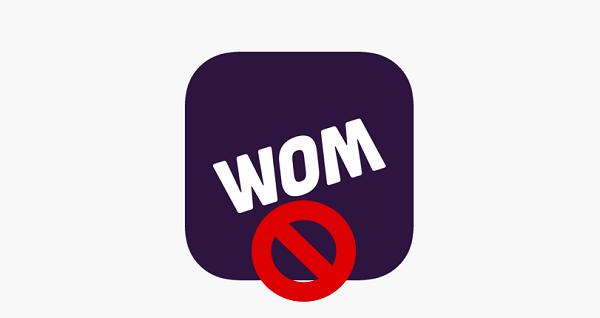 Cancelación de la portabilidad a WOM Chile