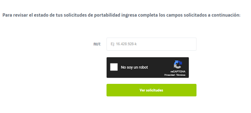 Consultar estado de portabilidad Movistar Chile