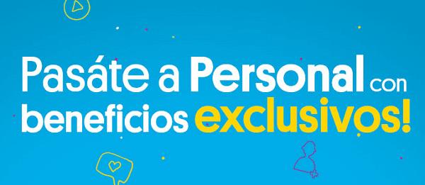 Ofertas de portabilidad a Personal Argentina