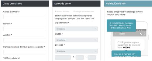 Solicitar portabilidad Claro Colombia