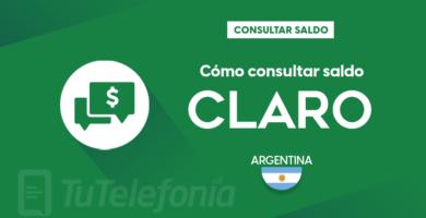 Consultar saldo Claro Argentina