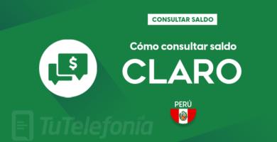 Consultar saldo Claro Perú