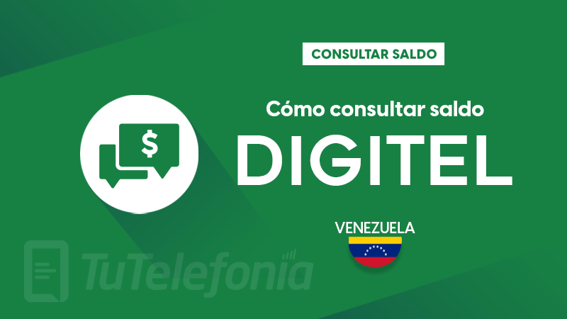 Consultar saldo Digitel Venezuela