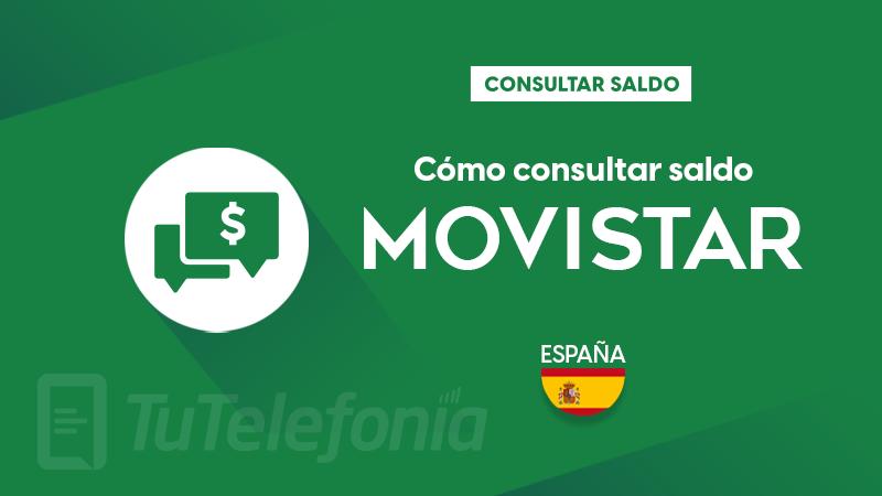 Consultar saldo Movistar España