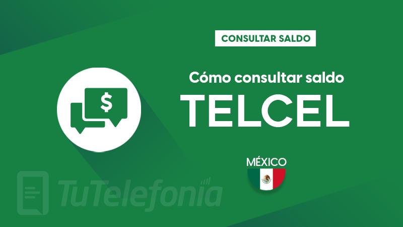Consultar saldo Telcel México