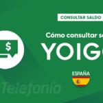 Consultar saldo Yoigo España