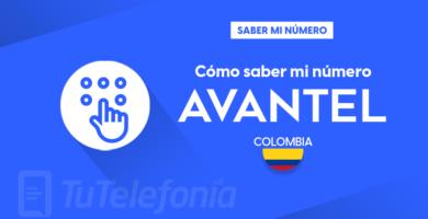 Saber mi número Avantel Colombia