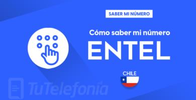 Saber mi número Entel Chile