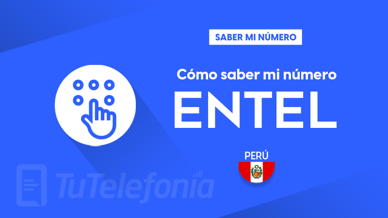 Saber mi número Entel Perú