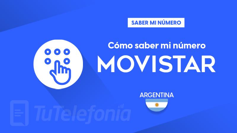 Saber mi número Movistar Argentina