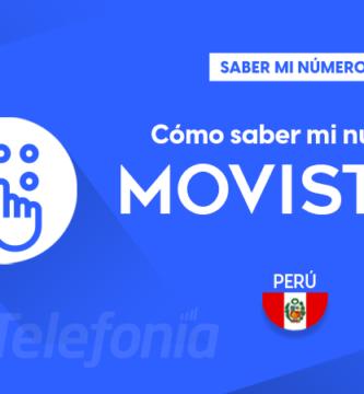 Saber mi número Movistar Perú