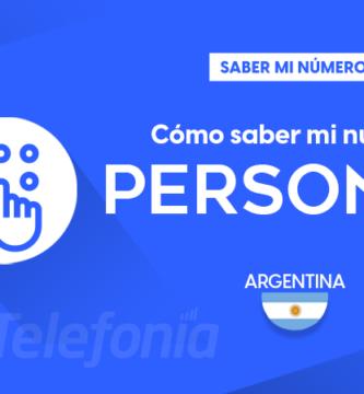 Saber mi número Personal Argentina
