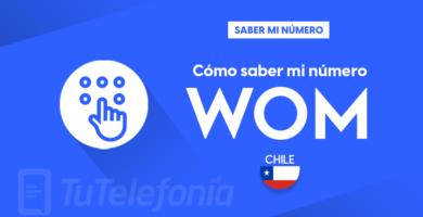 Saber mi número WOM Chile