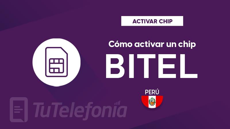 Activar Chip Bitel Perú