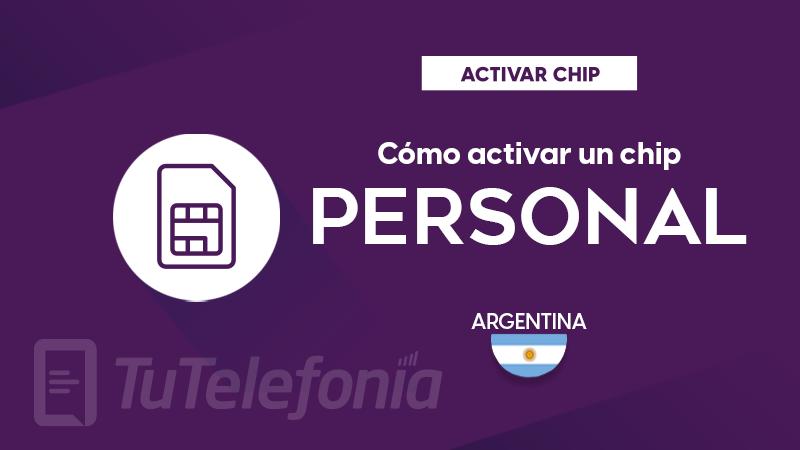 Activar Chip Personal Argentina