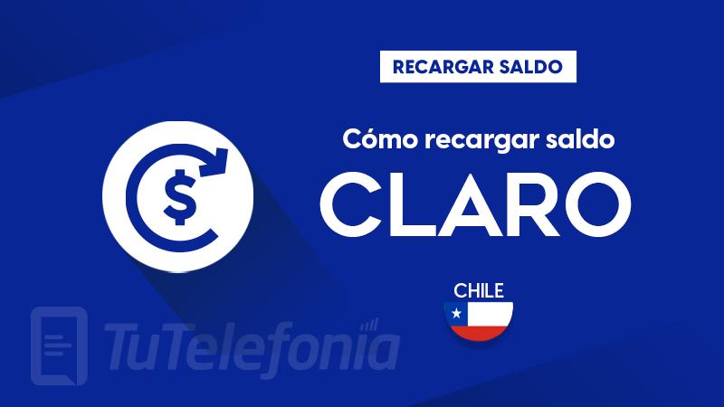 Recargar saldo de Claro Chile