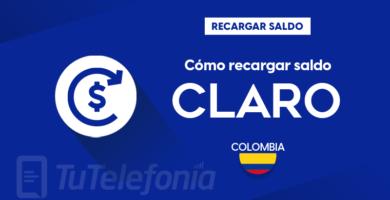 Recargar saldo de Claro Colombia