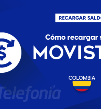 Recargar saldo de Movistar Colombia