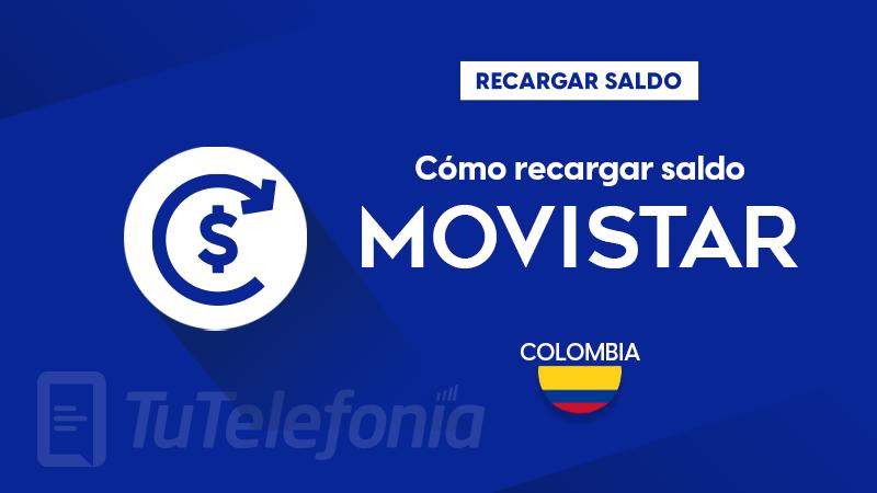 Recargar saldo de Movistar Colombia