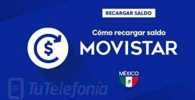 Recargar saldo de Movistar México