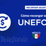 Recargar saldo de Unefon México
