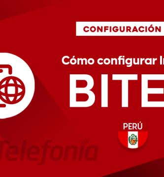 Cómo configurar APN de Bitel Perú
