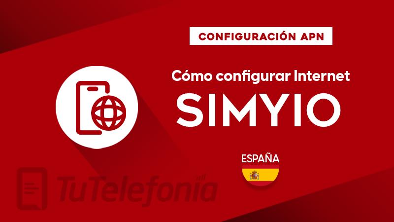 Cómo configurar APN de Simyo España